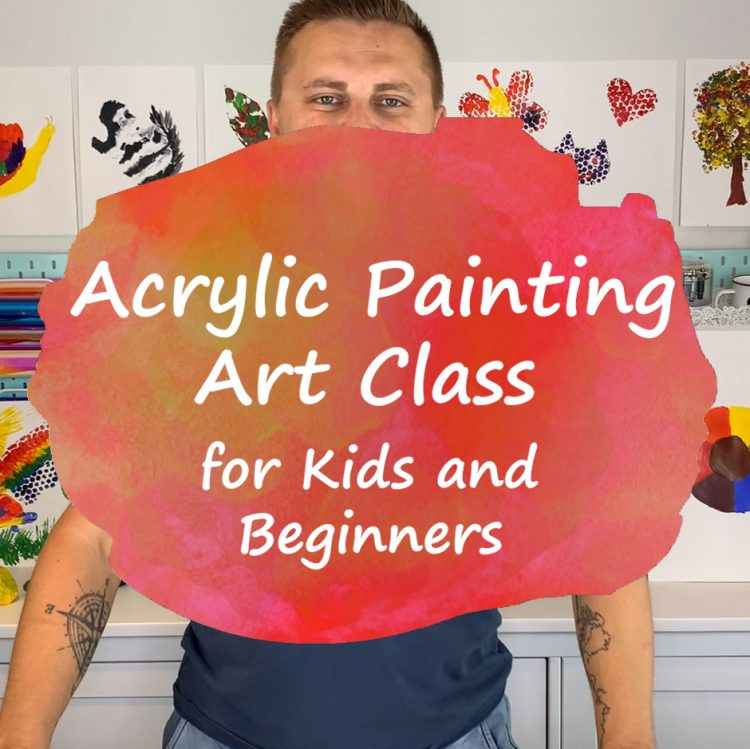Acrylic Painting Classes for Kids and Beginners - Andrzej Ejmont - Title