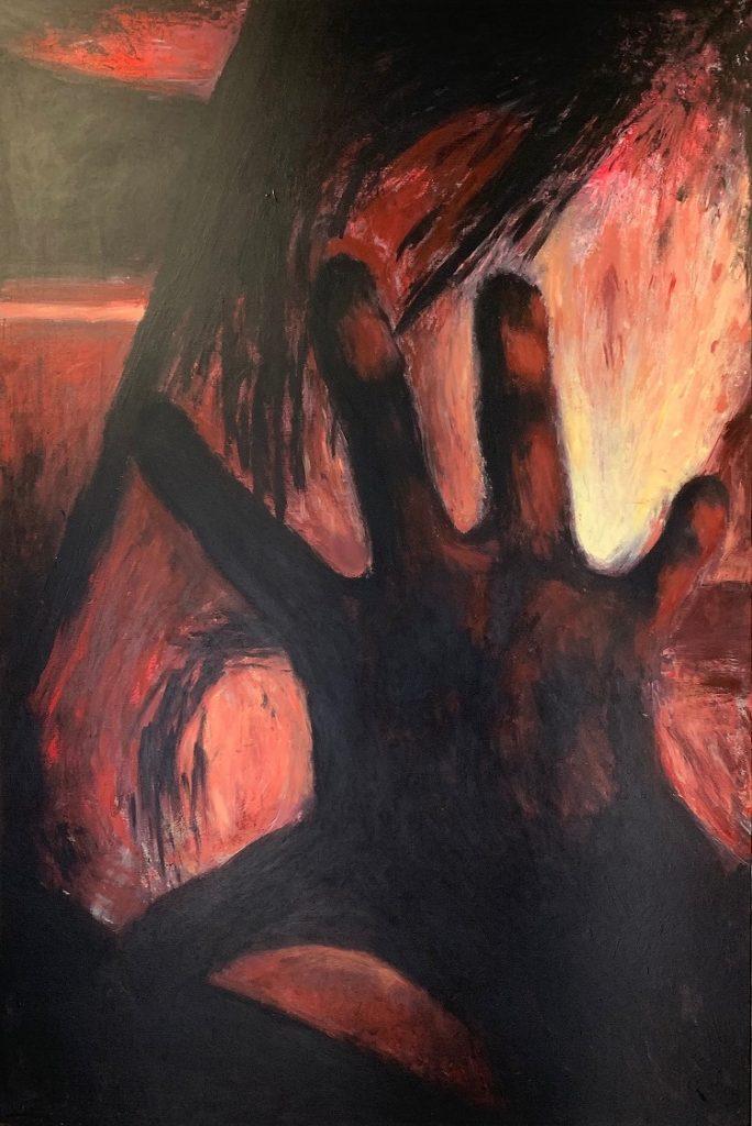 I FEEL U - Acrylic Painting my Andrzej Ejmont