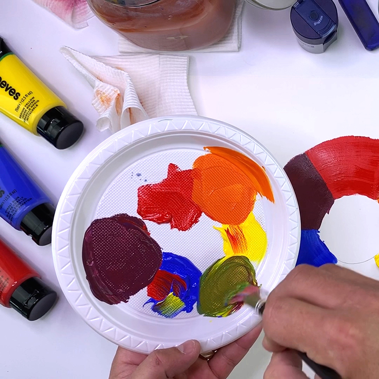 Art for Kids - Color Basics - Acrylic Painting for Kids