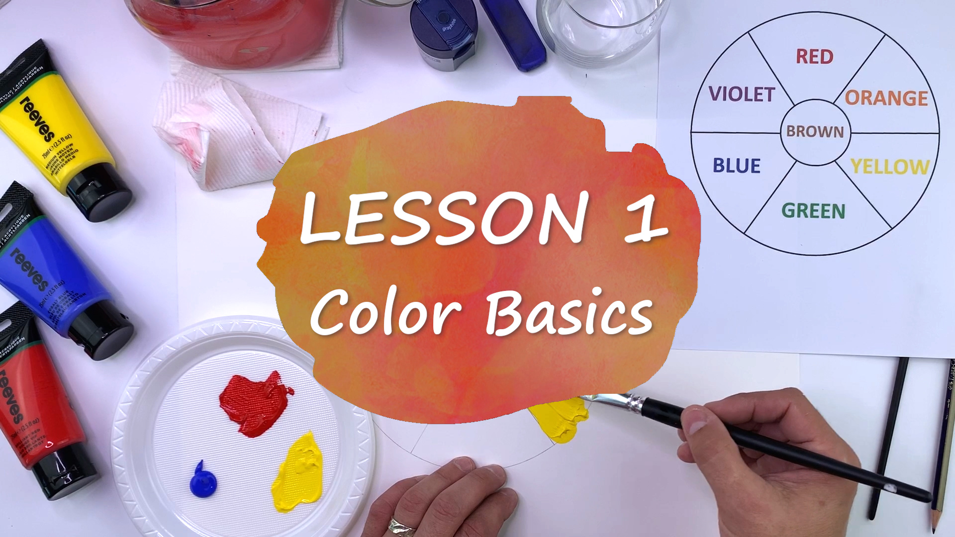 Color Basics - Color Wheel and Color Shading