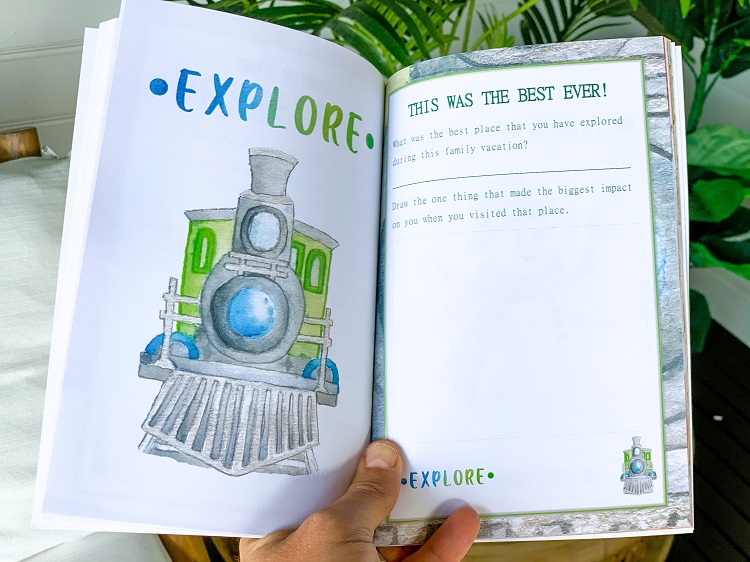 A Travel Journal For Kids - Andrzej Ejmont - Explore