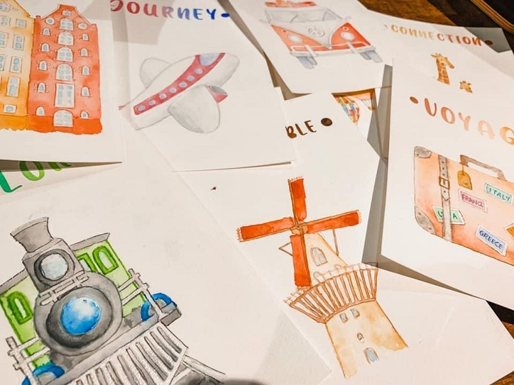 A Travel Journal For Kids - Andrzej Ejmont - Humble Beginnings and Art Work
