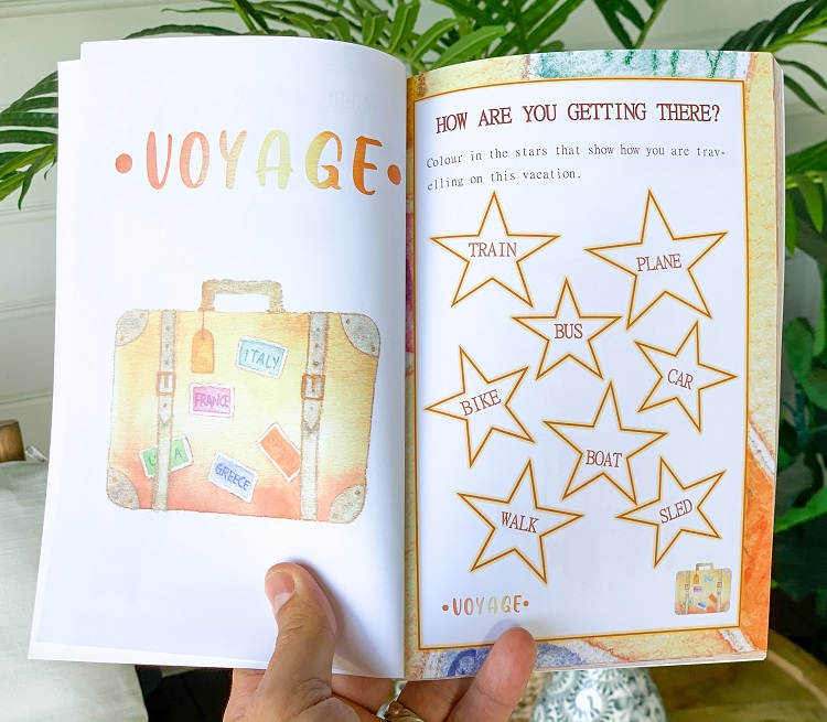 A Travel Journal For Kids - Andrzej Ejmont - Voyage