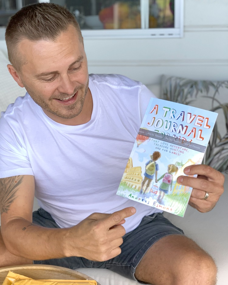 A Travel Journal For Kids - Andrzej Ejmont - With My Book